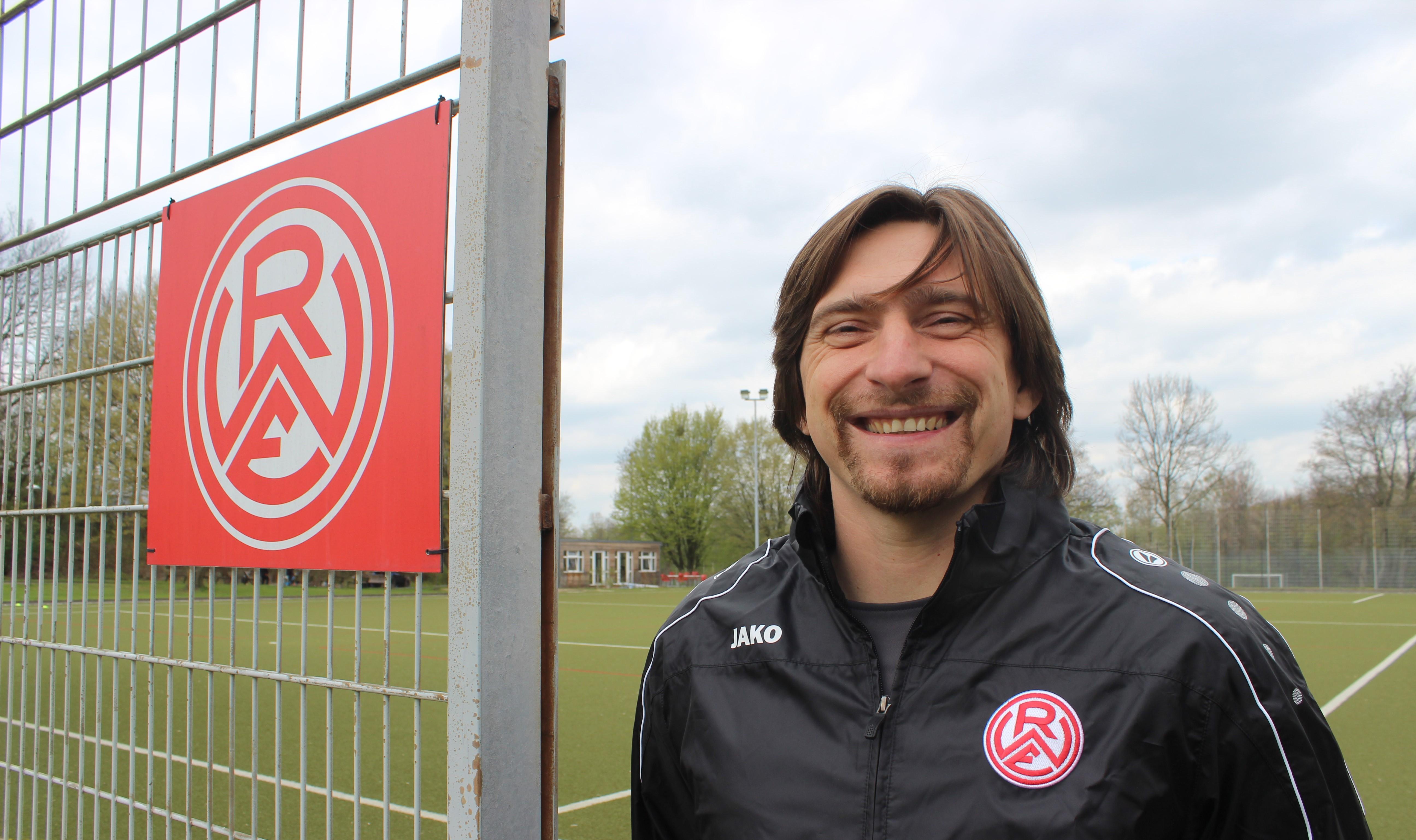 Zurück bei RWE: Der ehemalige rot-weisse Profi Vincent Wagner übernimmt ab Juli den Trainerposten der U19-Mannschaft. (Foto: Poerting)