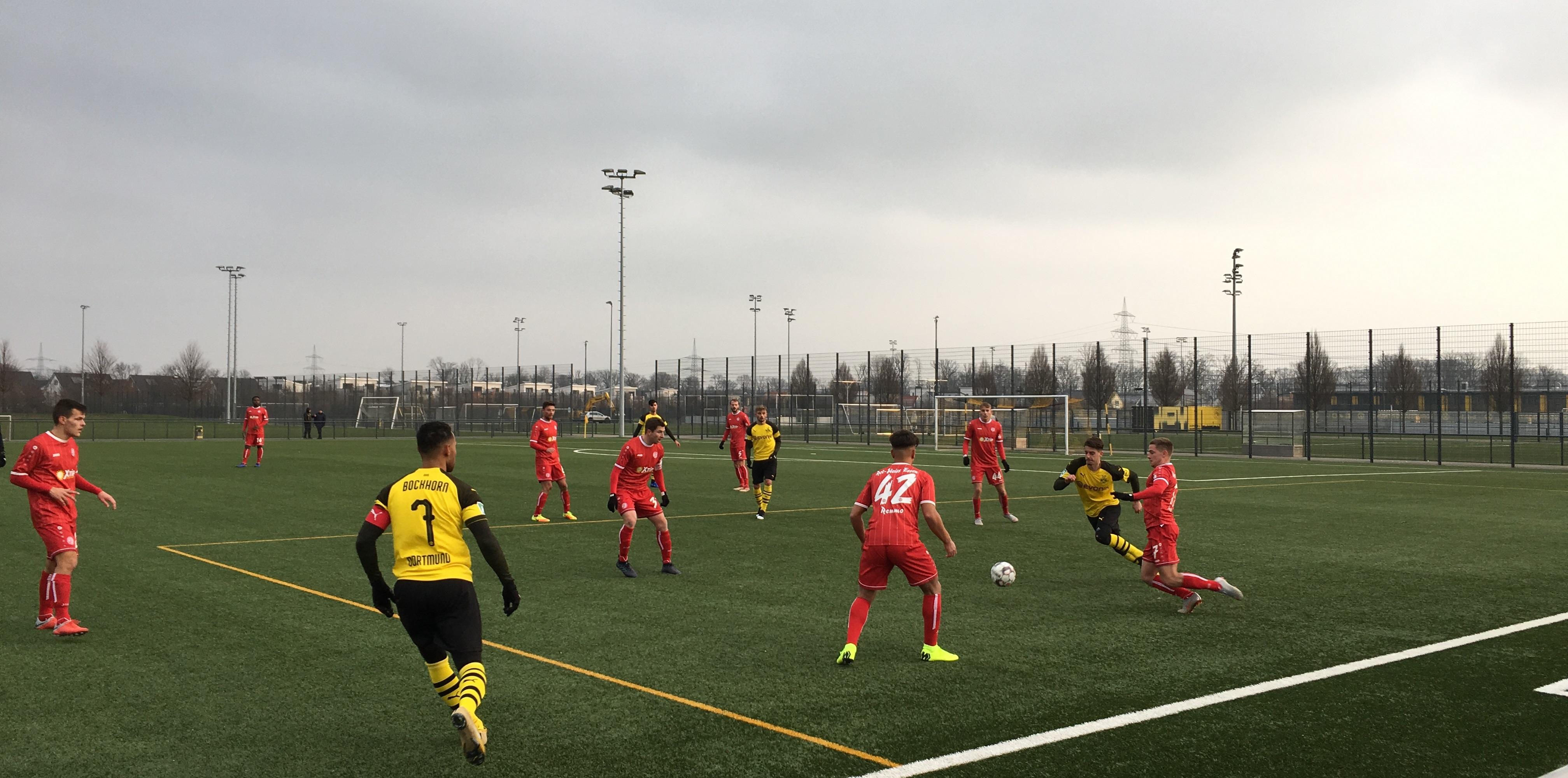 RWE verlor gegen den BVB II das erste Spiel der laufenden Vorbereitung.