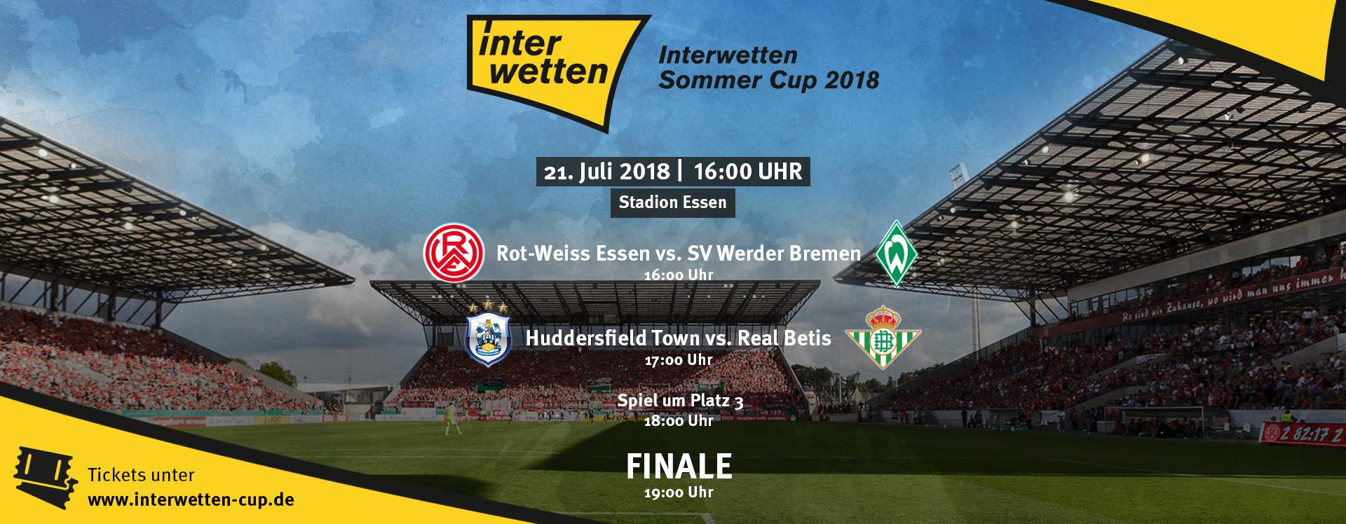 RWE trifft im ersten Halbfinale des Tages auf den SV Werder Bremen.