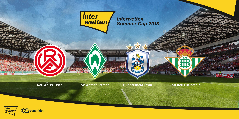 Am 21. Juli sind Werder Bremen, Huddersfield und Betis Sevilla zu Gast an der Hafenstraße.