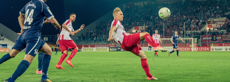 Am Sonntag findet im BVB-RWE Fanshop eine Autogrammstunde statt. Mit dabei: Kai Pröger.