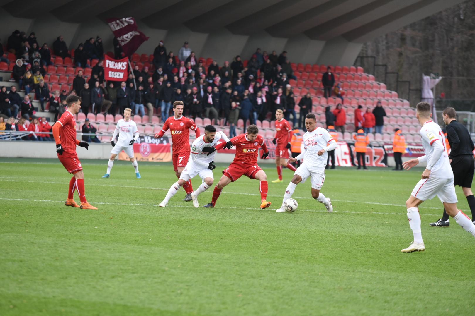 Ohne Punkte kehrten die Rot-Weissen aus Köln zurück. (Foto: Rotzoll)