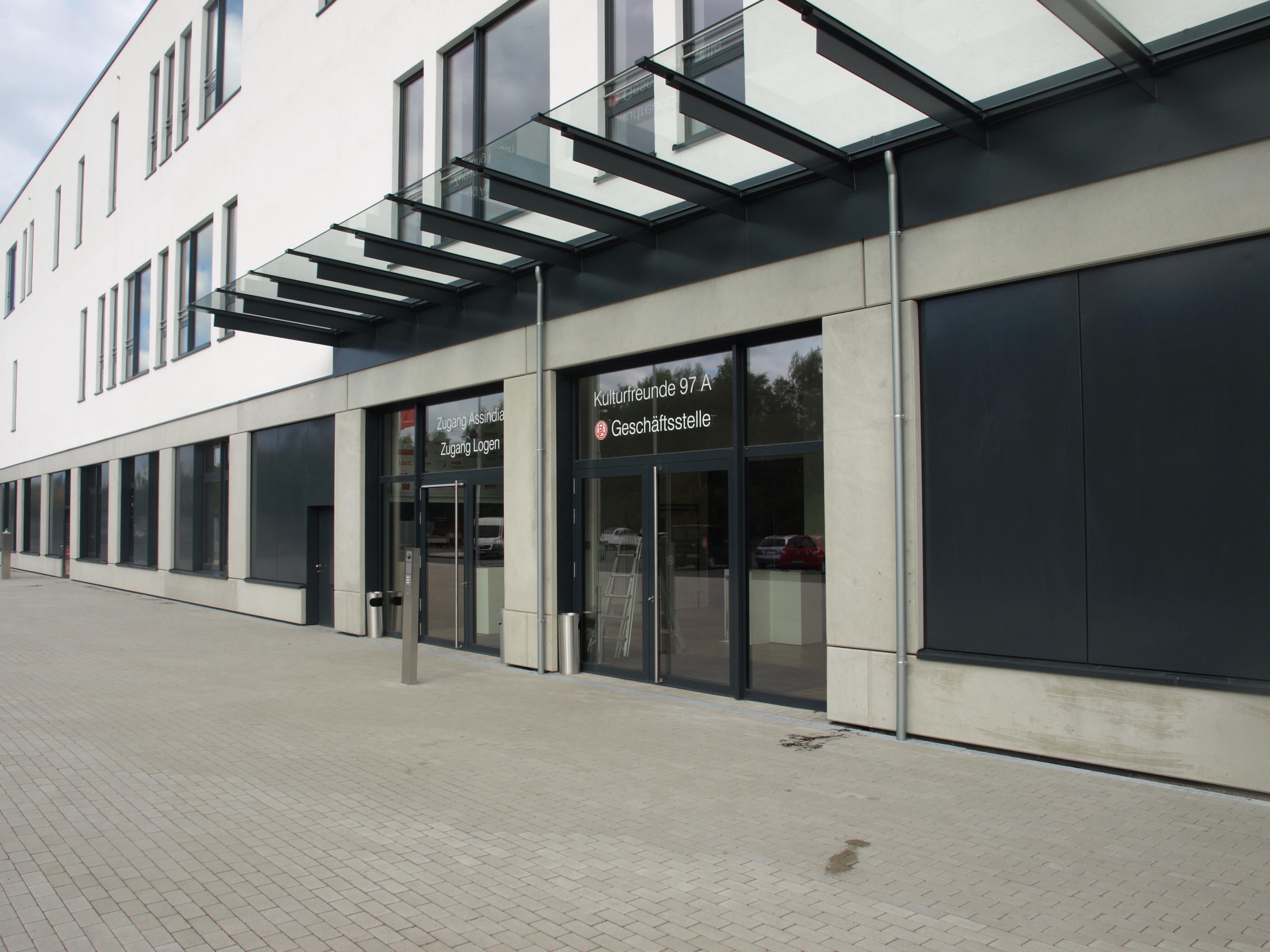 Die rot-weisse Geschäftsstelle und der Fanshop an der Hafenstraße gehen in die Winterpause.