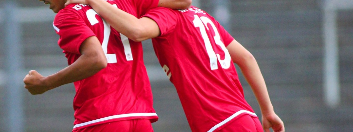 Die rot-weisse U17 trifft auf die Jugend des 1. FC Mönchengladbach. (Foto: Breilmannswiese)
