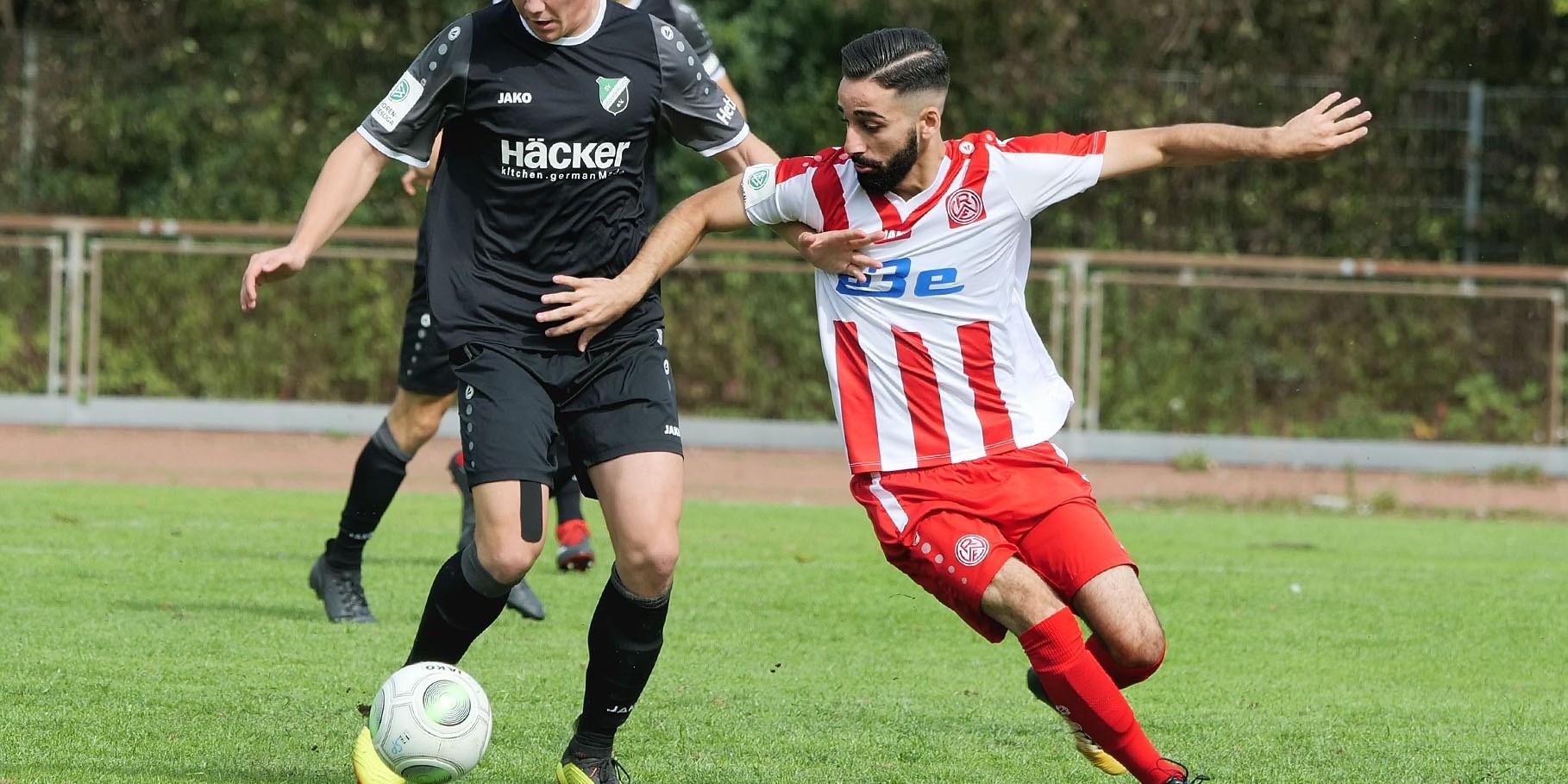 Gegen Rödinghausen mussten sich die Rot-Weissen mit 0:2 geschlagen geben. (Foto: Gohl)