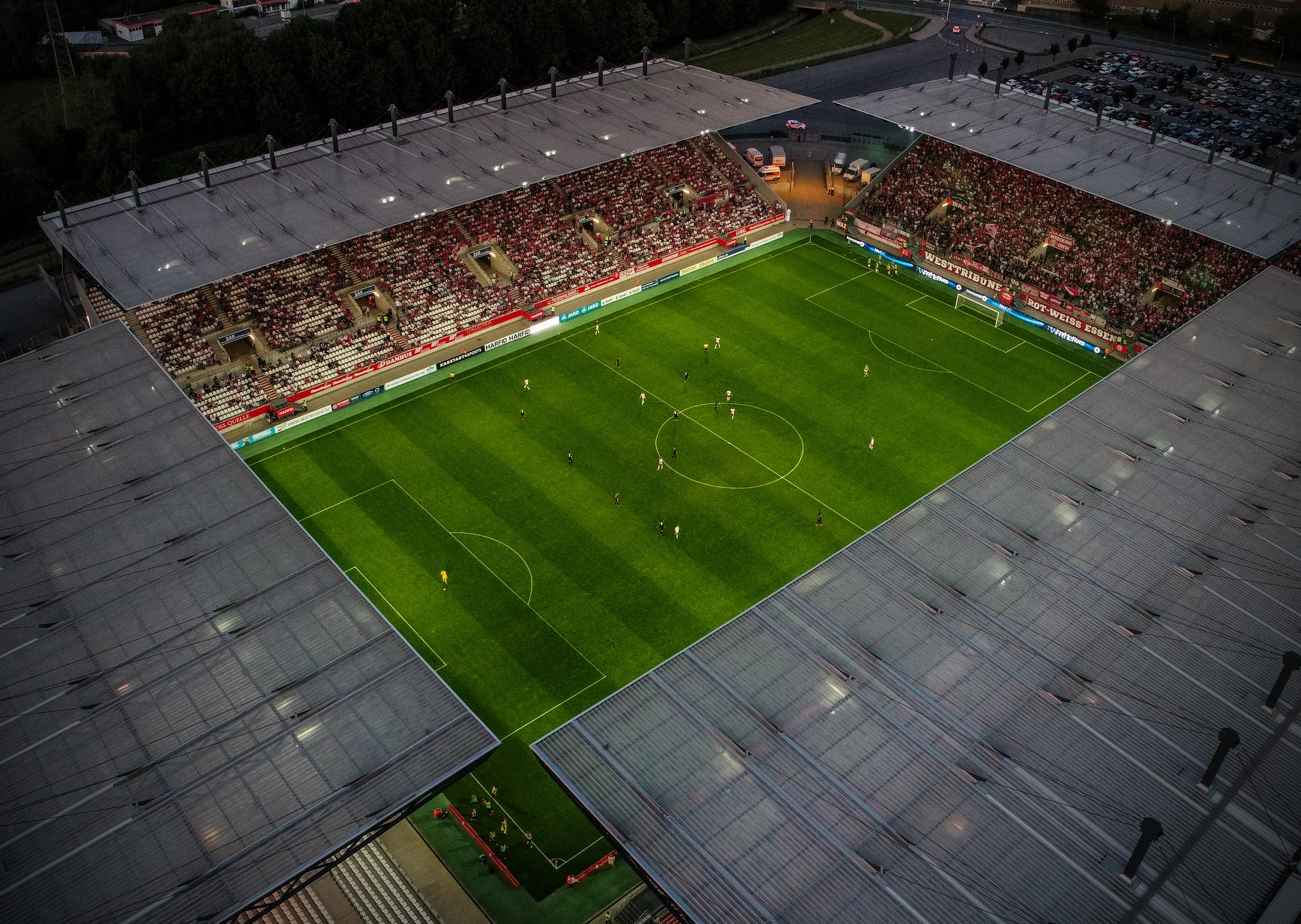 Das Stadion Essen wird auch in der Restrunde gut gefüllt sein.