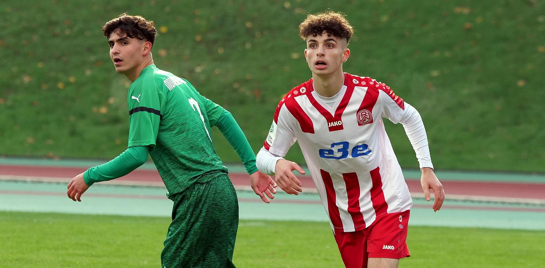 Die rot-weisse U19 startet im neuen Jahr mit einem Heimspiel gegen den MSV Duisburg.