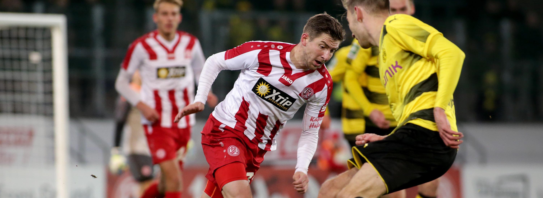 RWE musste sich gegen die U23 des BVB ohne Punkte begnügen. (Foto: Endberg)
