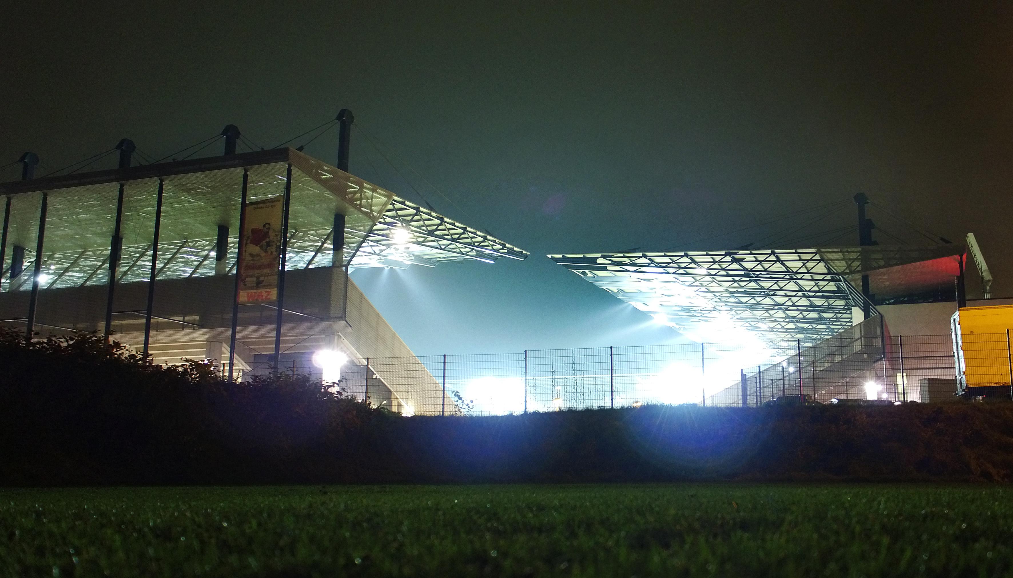 Das Stadion Essen beherbergt am 21. März das Duell zwischen den U21-Auswahlen von Deutschland und Frankreich. (Foto: Gohl)