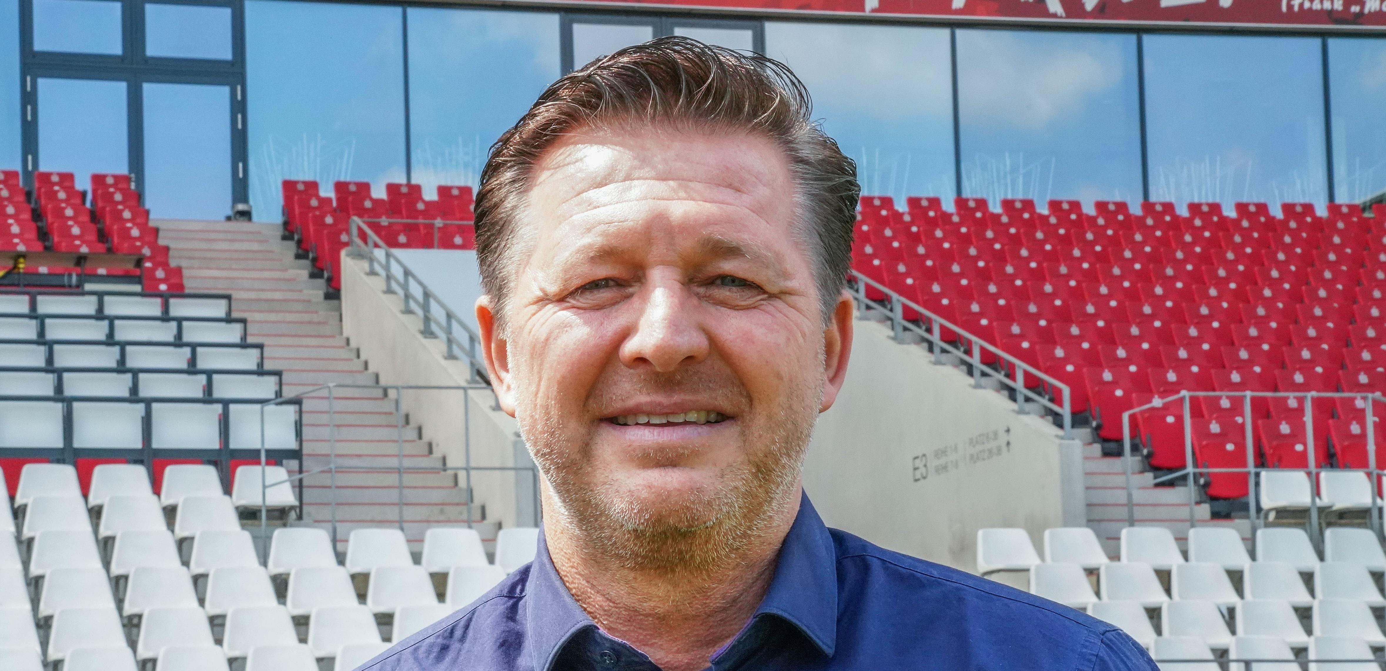 Christian Titz trainiert ab der kommenden Saison die Rot-Weissen. (Foto: Gohl)