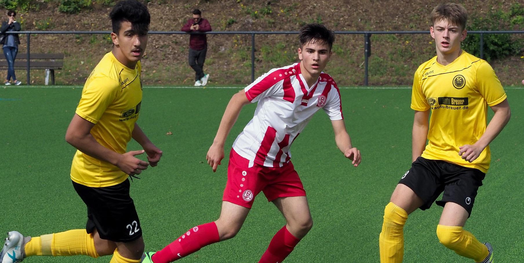 Die rot-weisse U17 unterlag im Stadtderby dem ETB SW Essen mit 0:1.