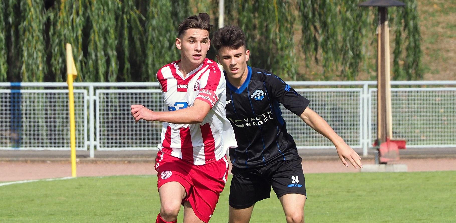 Die rot-weisse U17 musste sich an diesem Wochenende beim VfL Bochum mit 3:0 geschlagen geben.