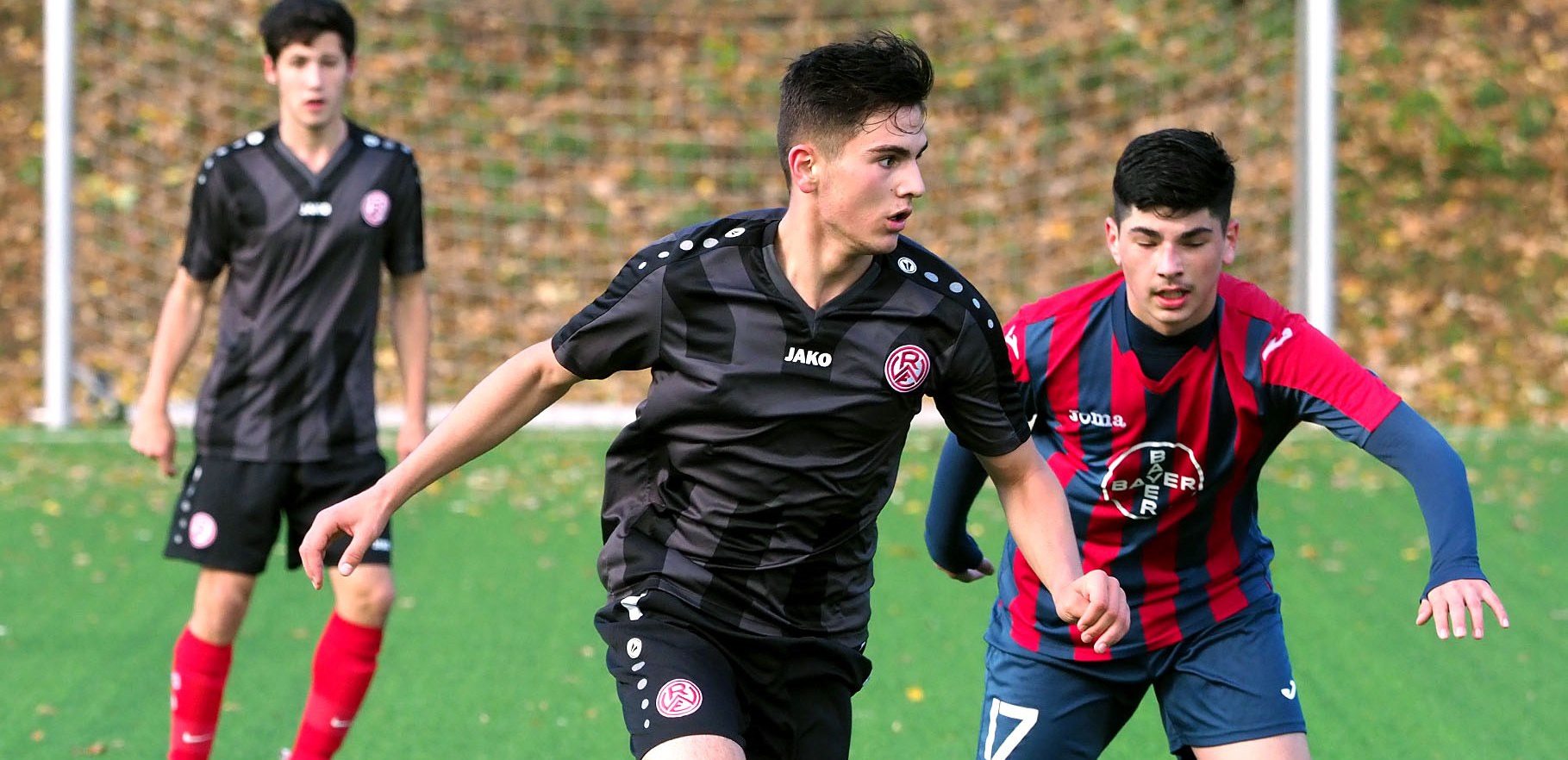 Am Sonntag schließt die U17 die Hinrunde der B-Junioren-Niederrheinliga ab.