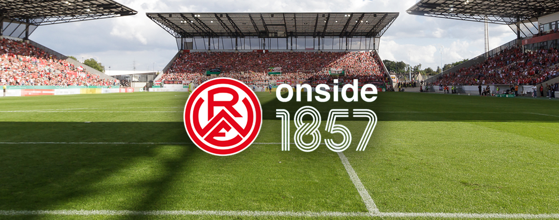 Rot-Weiss Essen kooperiert ab sofort mit der Hamburger Berateragentur Onside.