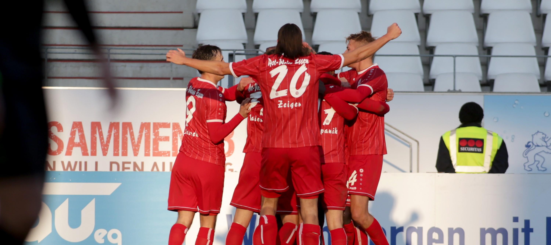 Rot-Weiss Essen schlägt Rödinghausen 2:0. (Foto: Endberg)