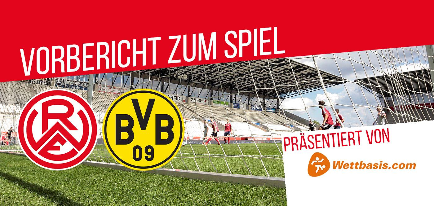 Am Mittwochabend gastiert die BVB U23 an der Hafenstraße. (Foto: Endberg/RWE)