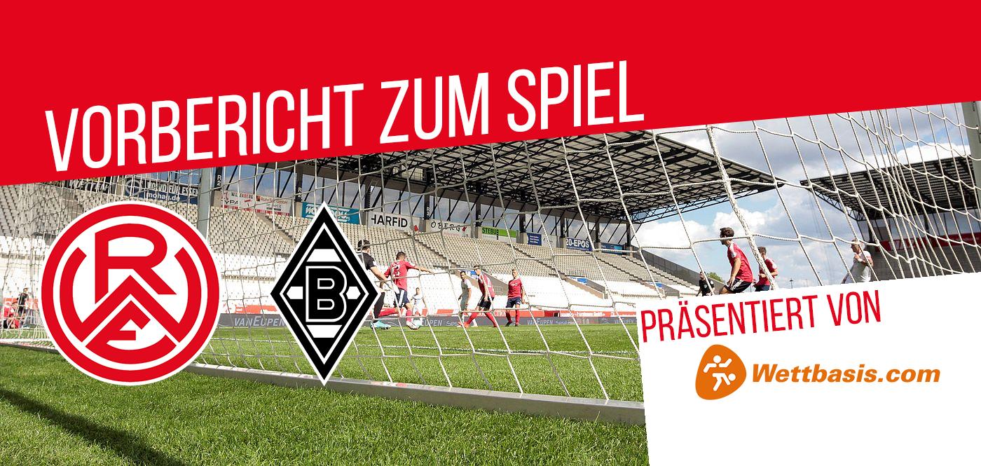 Morgen empfängt RWE die U23 von Borussia Mönchengladbach um 14.00 Uhr an der Hafenstraße.