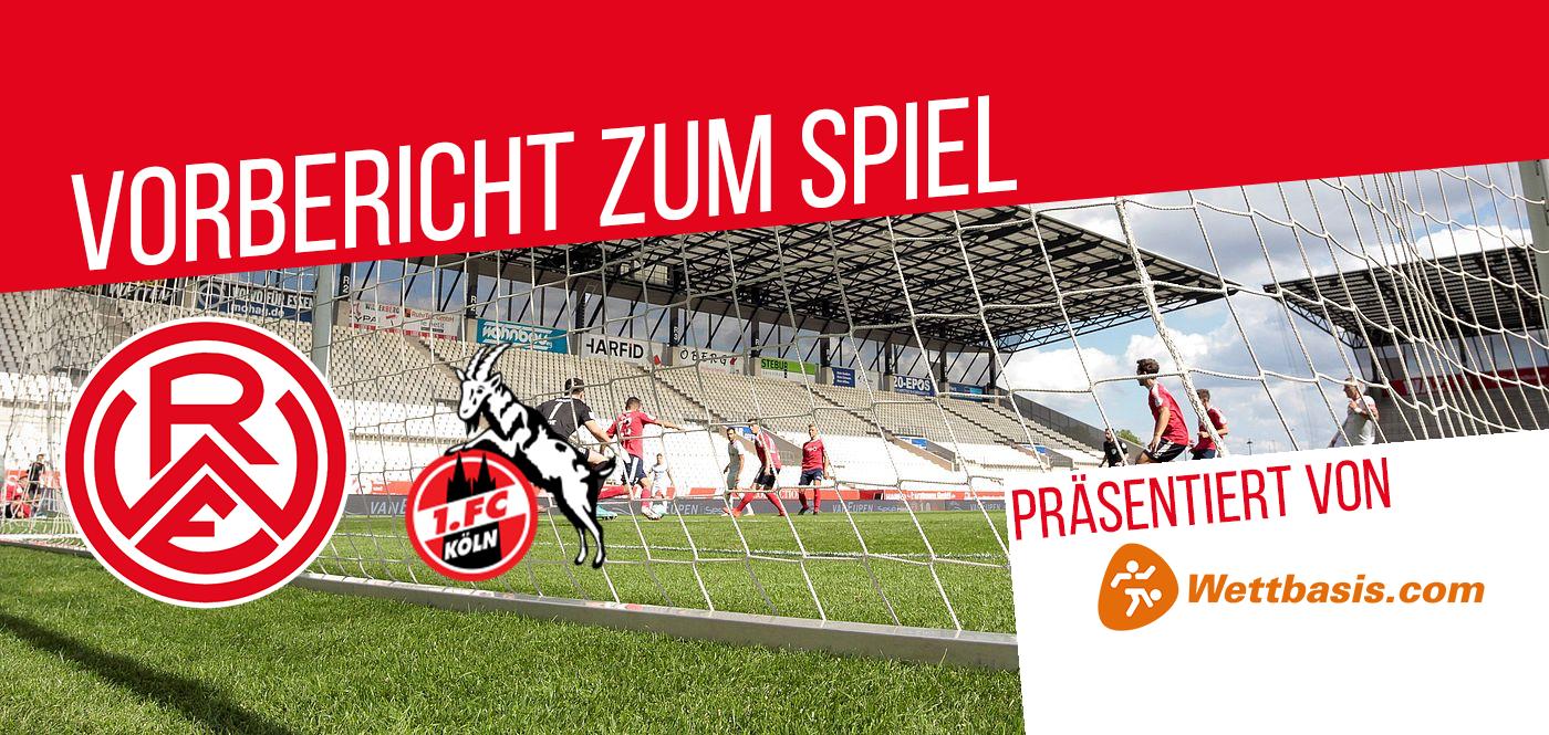 Der Vorbericht zum Spiel Rot-Weiss Essen gegen die U21 vom 1. FC Köln wird präsentiert von wettbasis.com.