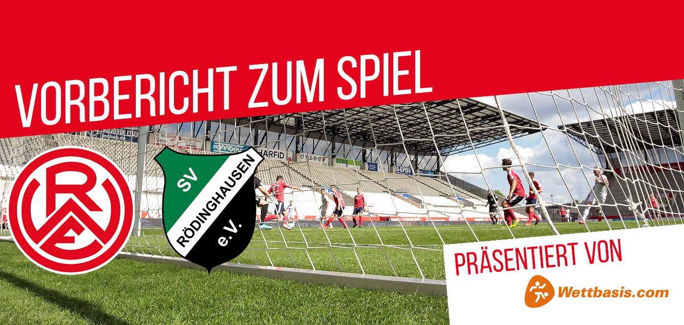 Der Vorbericht zum Spiel Rot-Weiss Essen gegen SV Rödinghausen wird präsentiert von wettbasis.com.