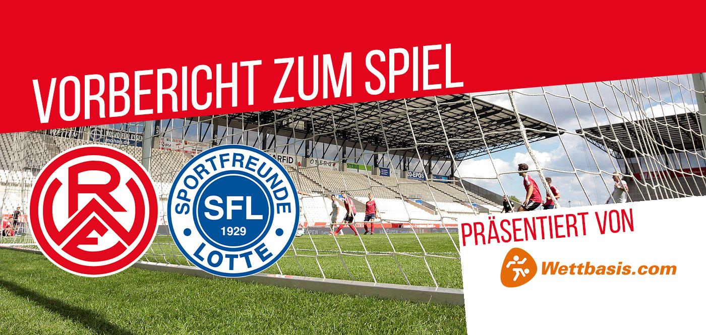 Rot-Weiss Essen empfängt die Sportfreunde Lotte zum letzten Heimspiel in der Saison 2020/2021. (Foto: RWE / Endberg)