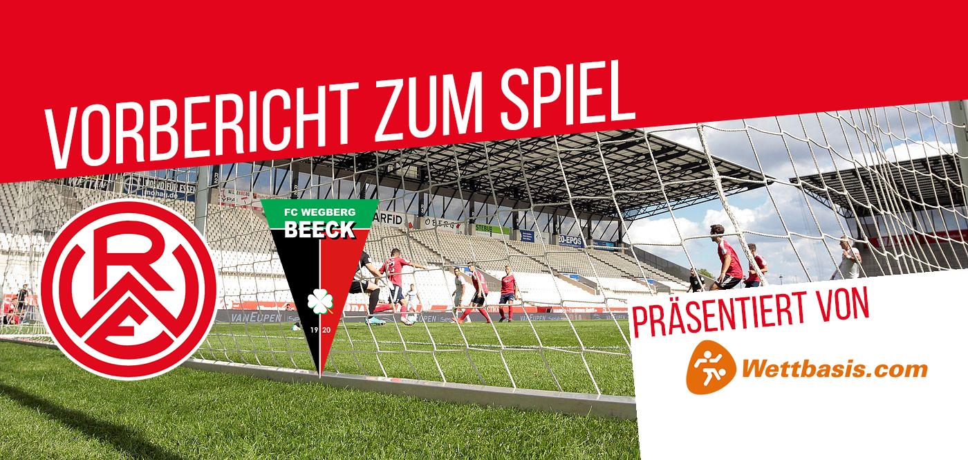 Der Vorbericht zum Spiel Rot-Weiss Essen gegen den FC Wegberg-Beeck wird präsentiert von wettbasis.com.