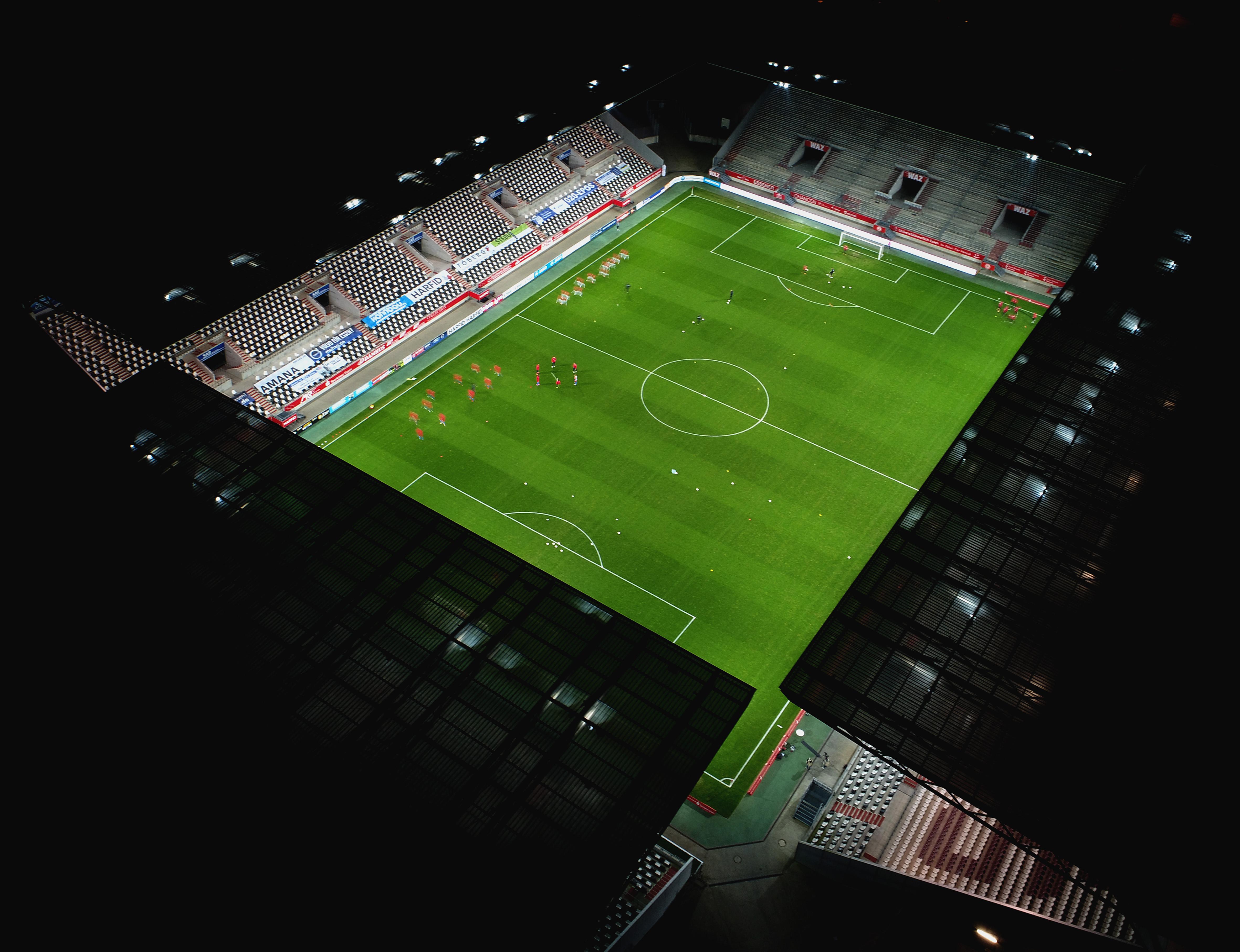 Zum DFB-Pokalspiel gegen Holstein Kiel ist der Zutritt zum Stadiongelände nicht möglich. (Foto: Gohl)