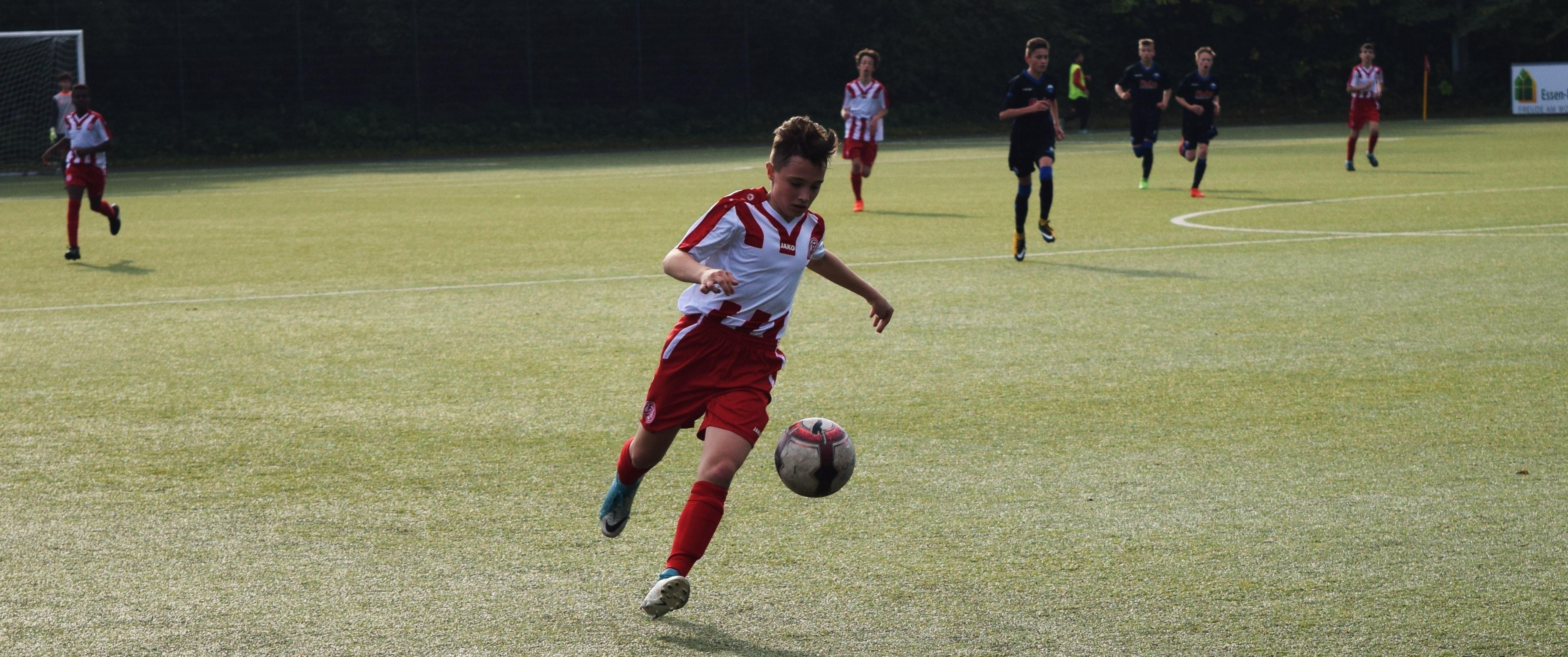 Die rot-weissen Jugendteams konnten am Wochenende Siege einfahren.