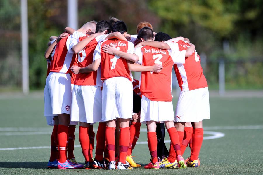 Von Sieg bis Niederlage war am vergangenen Wochenende für die rot-weissen Jugendteams alles dabei. (Foto: RWE)