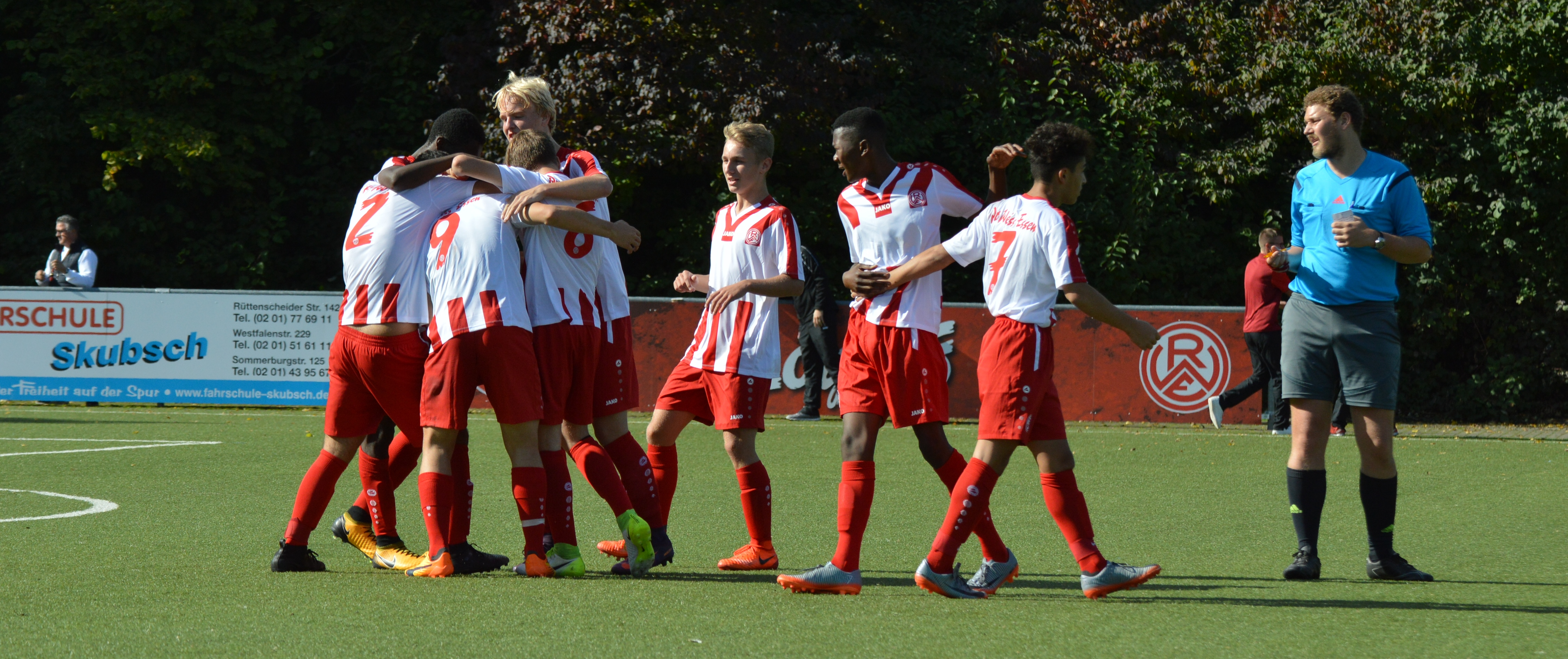 Die rot-weissen Jugendteams konnten überzeugen.