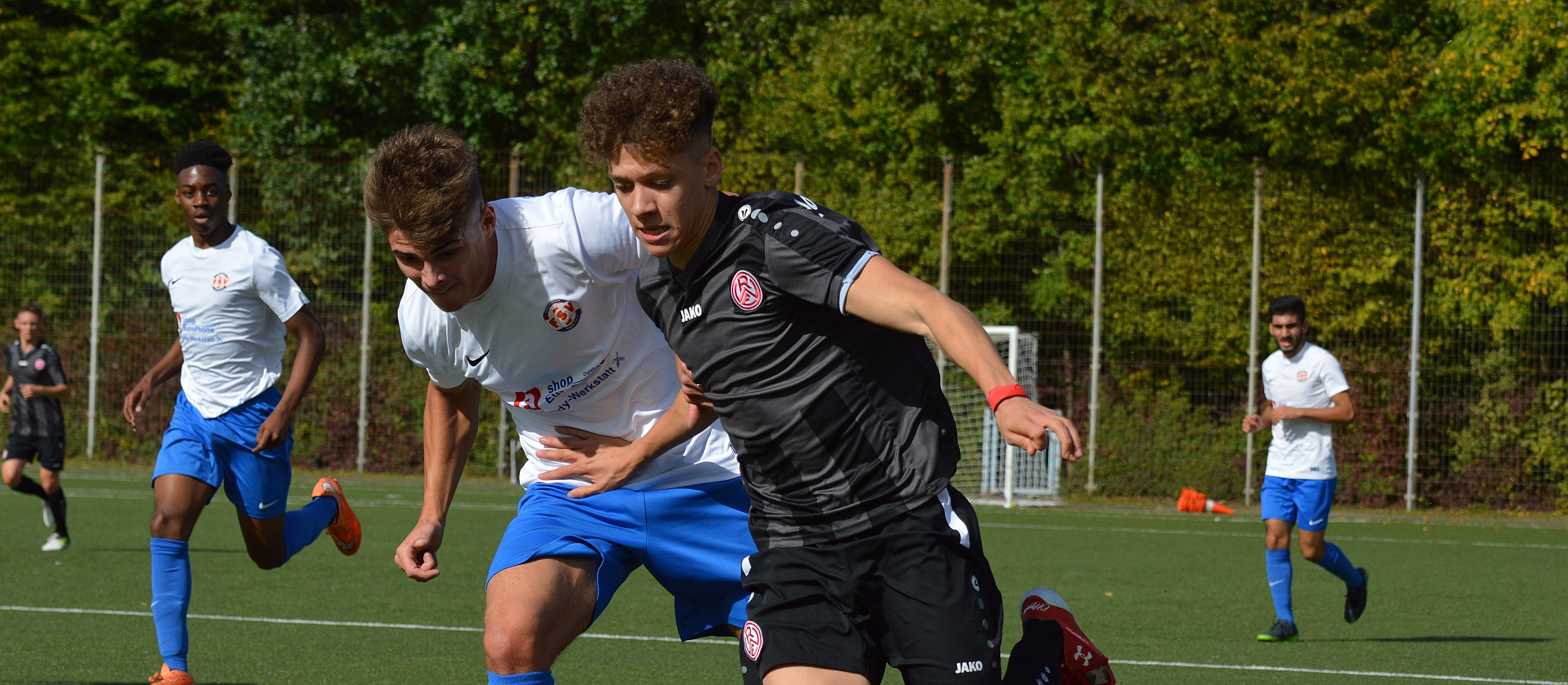 Die U19 von RWE trifft am Sonntag auf den FSV Duisburg. (Foto: Skuppin)