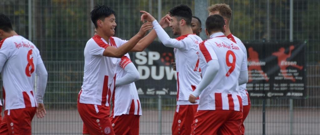 Die U19 von RWE feierte am Sonntag einen Kantersieg im Stadtderby gegen ETB SW Essen. (Foto: Skuppin)
