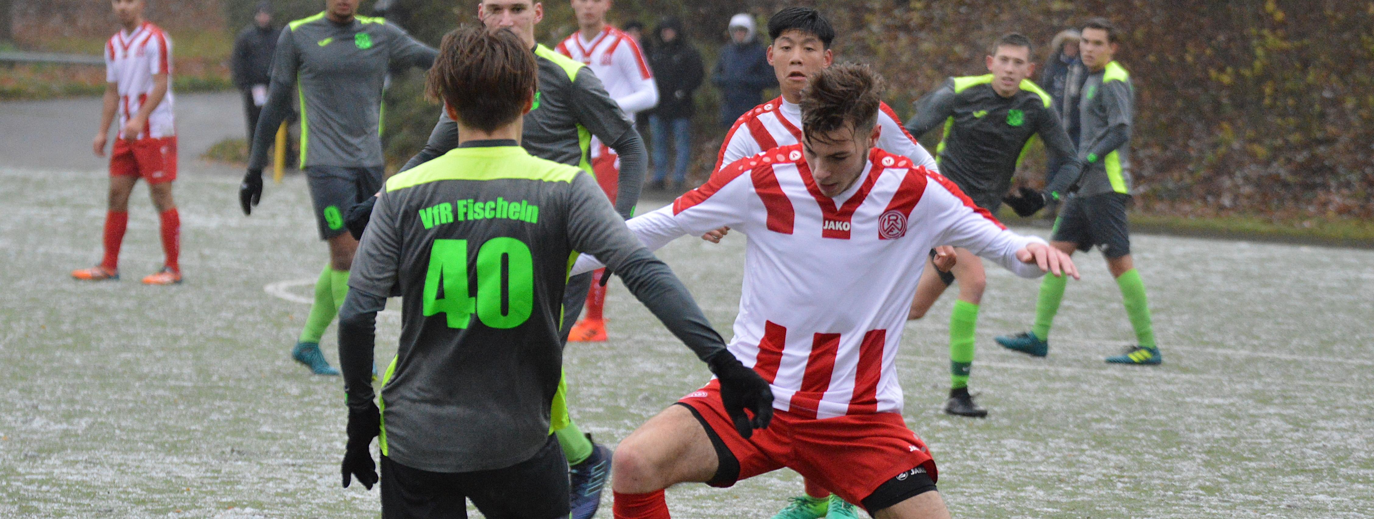 Die U19 von Rot-Weiss Essen setzte sich am Sonntag knapp gegen den VfR Fischeln durch. (Foto: Skuppin)