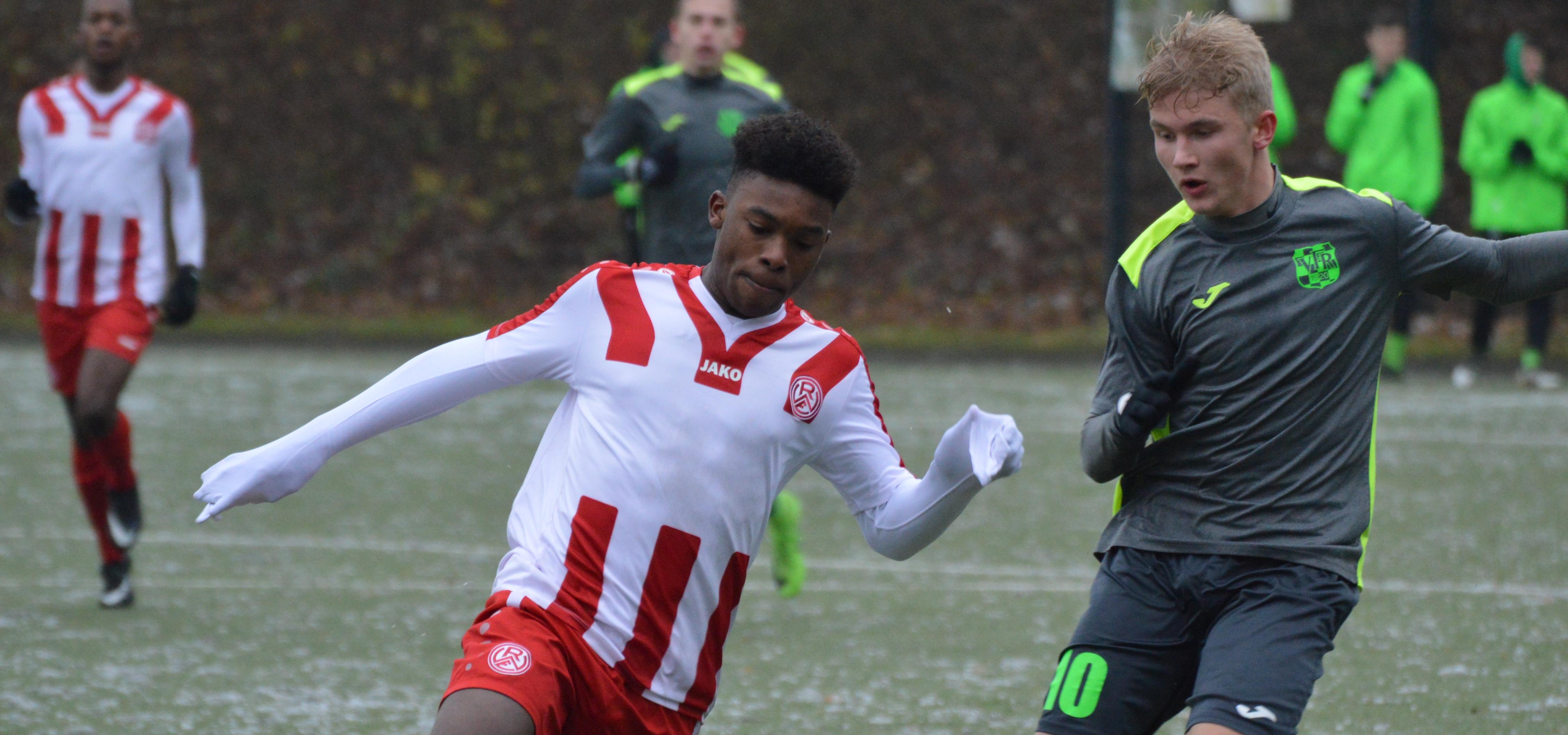 Für die rot-weisse U19 steht am Wochenende das letzte Spiel der Hinrunde an. (Foto: Skuppin)