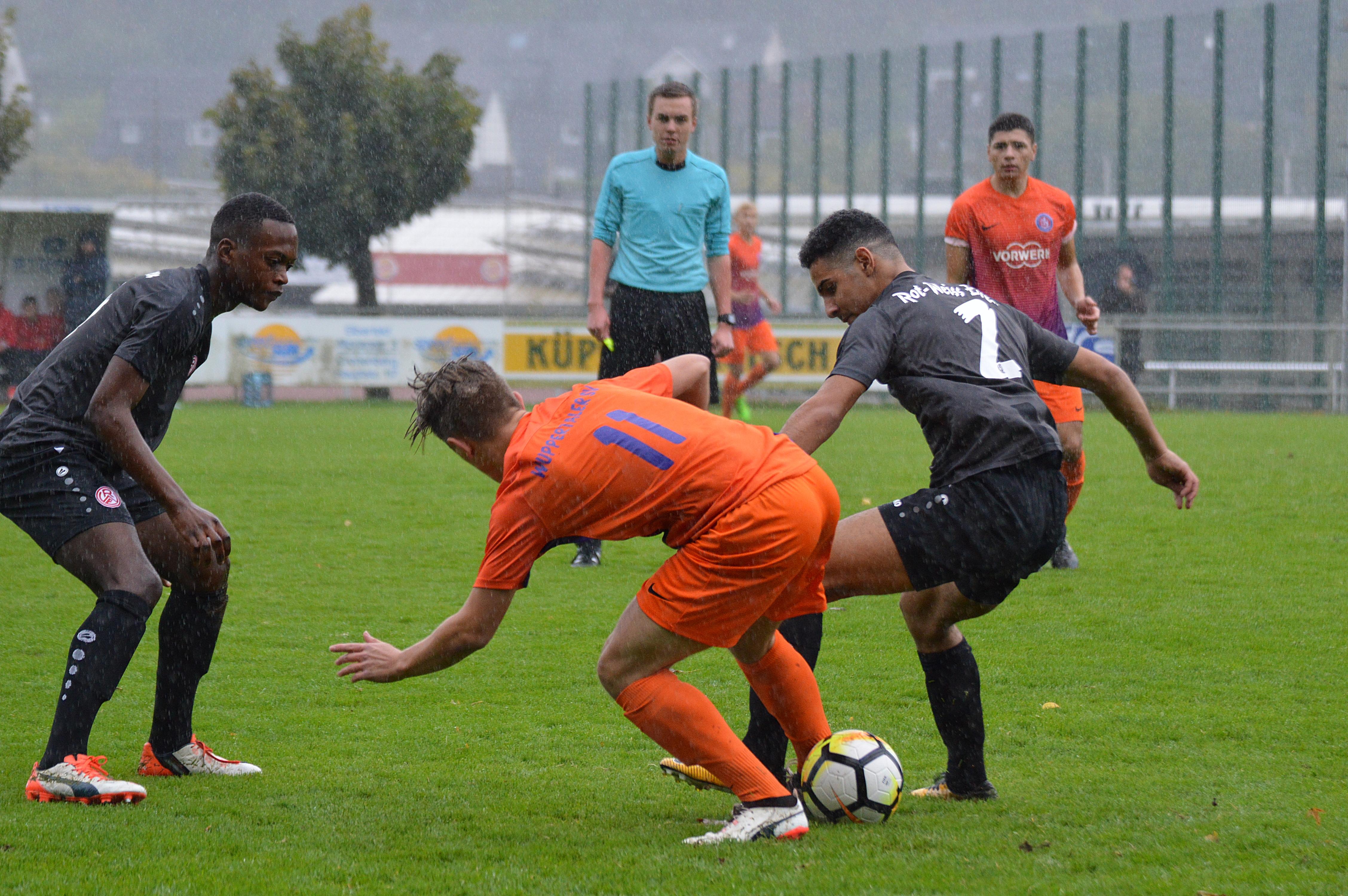 Das 0:0 in Wuppertal war das erste Unentschieden für die rot-weisse U19 in dieser Saison.