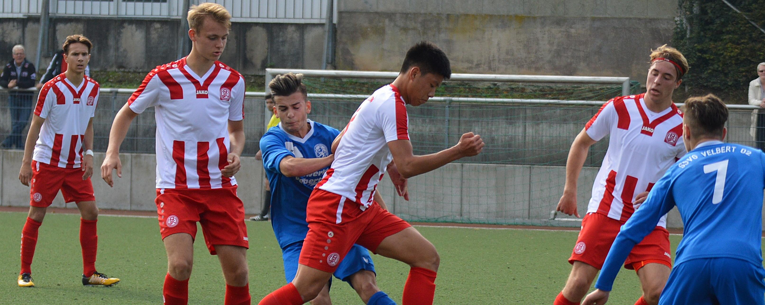 Die U19 von RWE ist am Wochenende gegen die SSVg Velbert gefordert. (Foto: Skuppin)