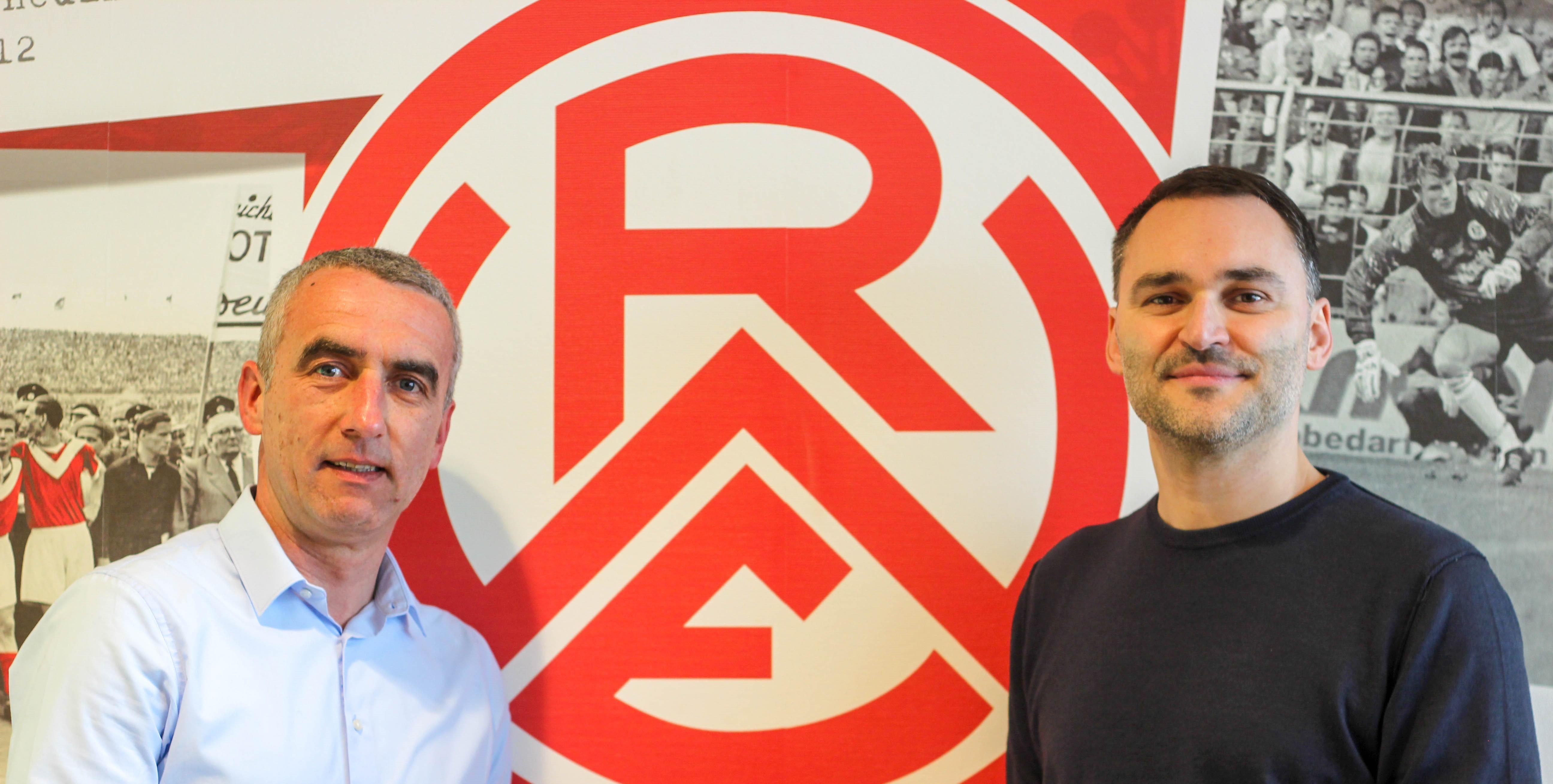 In den nächsten zwei Jahren Seite an Seite: Marcus Uhlig begrüßt Sascha Peljhan als strategischen Partner an seiner Seite.