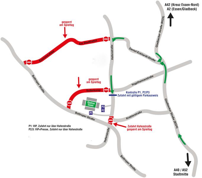 Anfahrt – Rot-Weiss Essen