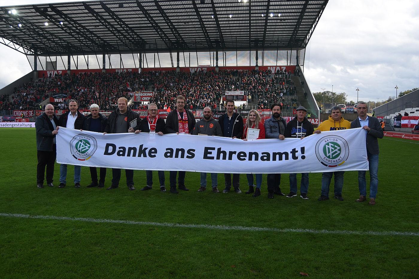 Rot-Weiss Essen dankt allen Helfern am Tag des Ehrenamts. (Archivfoto: Endberg)
