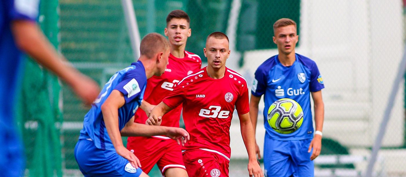 Rot-Weisse U19 muss gegen den VfB Hilden 03 ran. (Foto: Breilmannswiese)