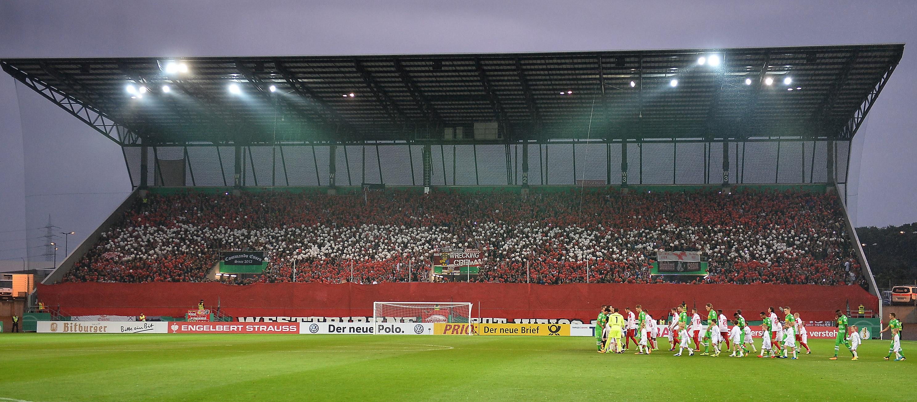4.000 Dauerkarten hat Rot-Weiss Essen bereits verkauft. (Foto: Tillmann)