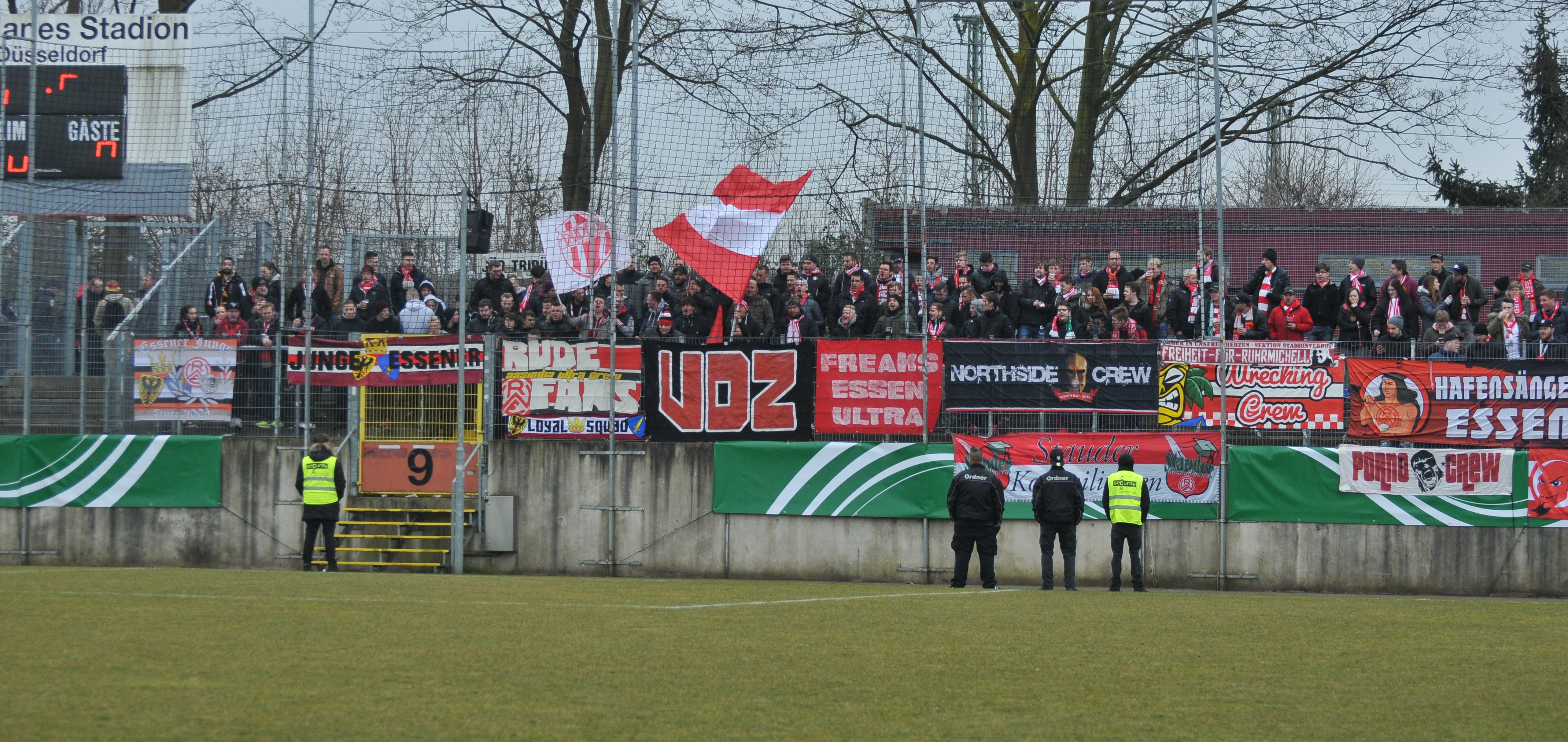 Am kommenden Samstag gastiert Rot-Weiss Essen bei Fortuna Düsseldorf, Karten sind ab morgen erhältlich. (Foto: Rotzoll)