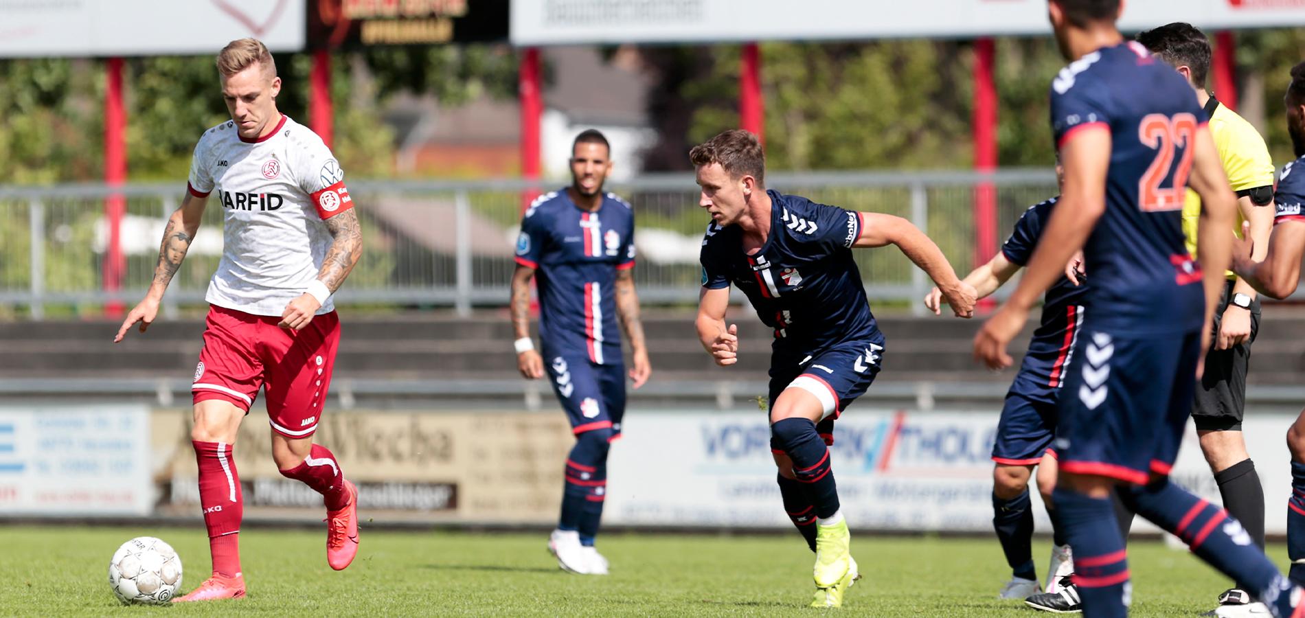 In Herzlake besiegte RWE den FC Emmen mit 1:0. (Foto: Endberg)