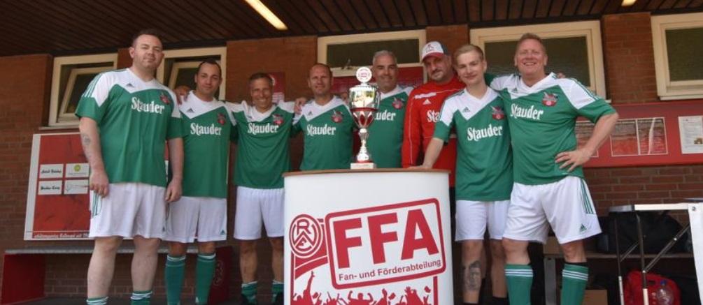 Das Team der FFA beim Fanclub-Turnier.