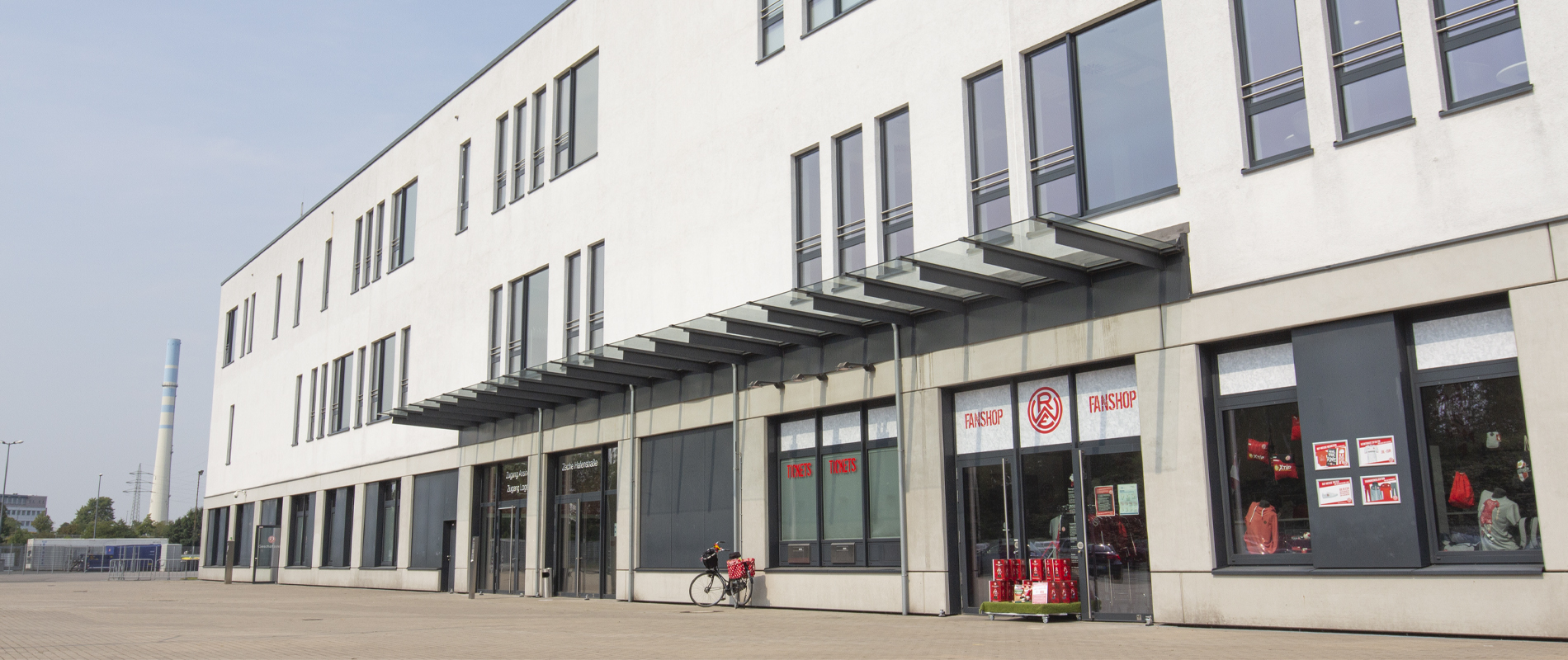Geschäftsstelle und Fanshop an der Hafenstraße Mittwoch geschlossen – Rot-Weiss Essen