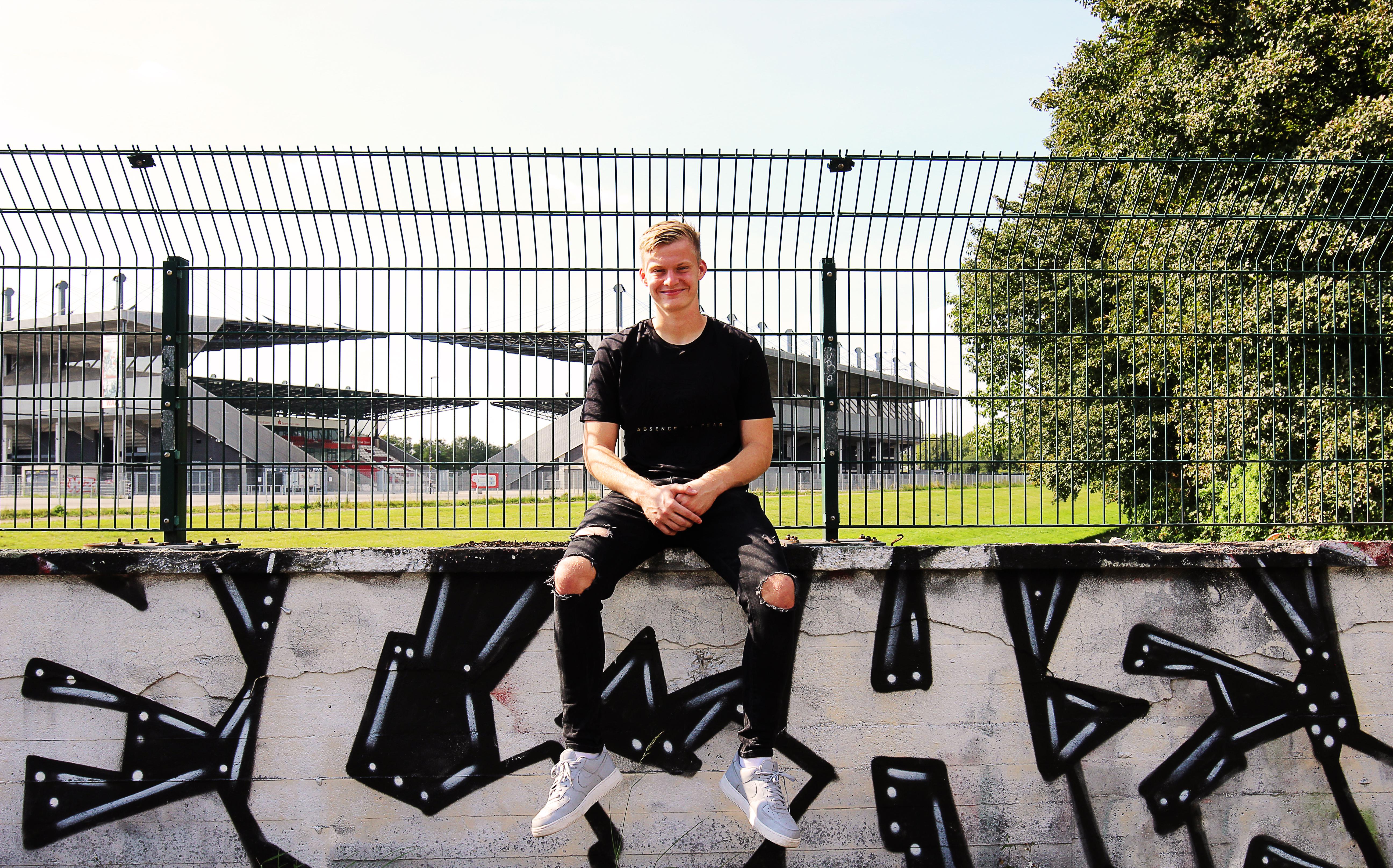 Neu im rot-weissen Tor: Jakob Golz wechselte diesen Sommer aus Hamburg an die Hafenstraße.