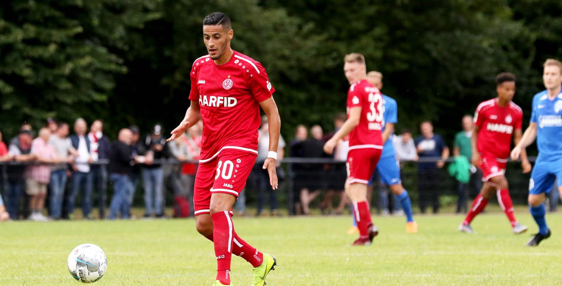 RWE verliert mit 6:4 gegen den FC 08 Homburg. (Foto: Endberg)