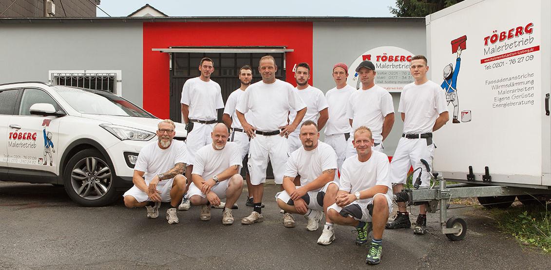 (Archivbild) Der Malerbetrieb Toeberg bleibt Rot-Weiss Essen als Business-Partner weiter erhalten.