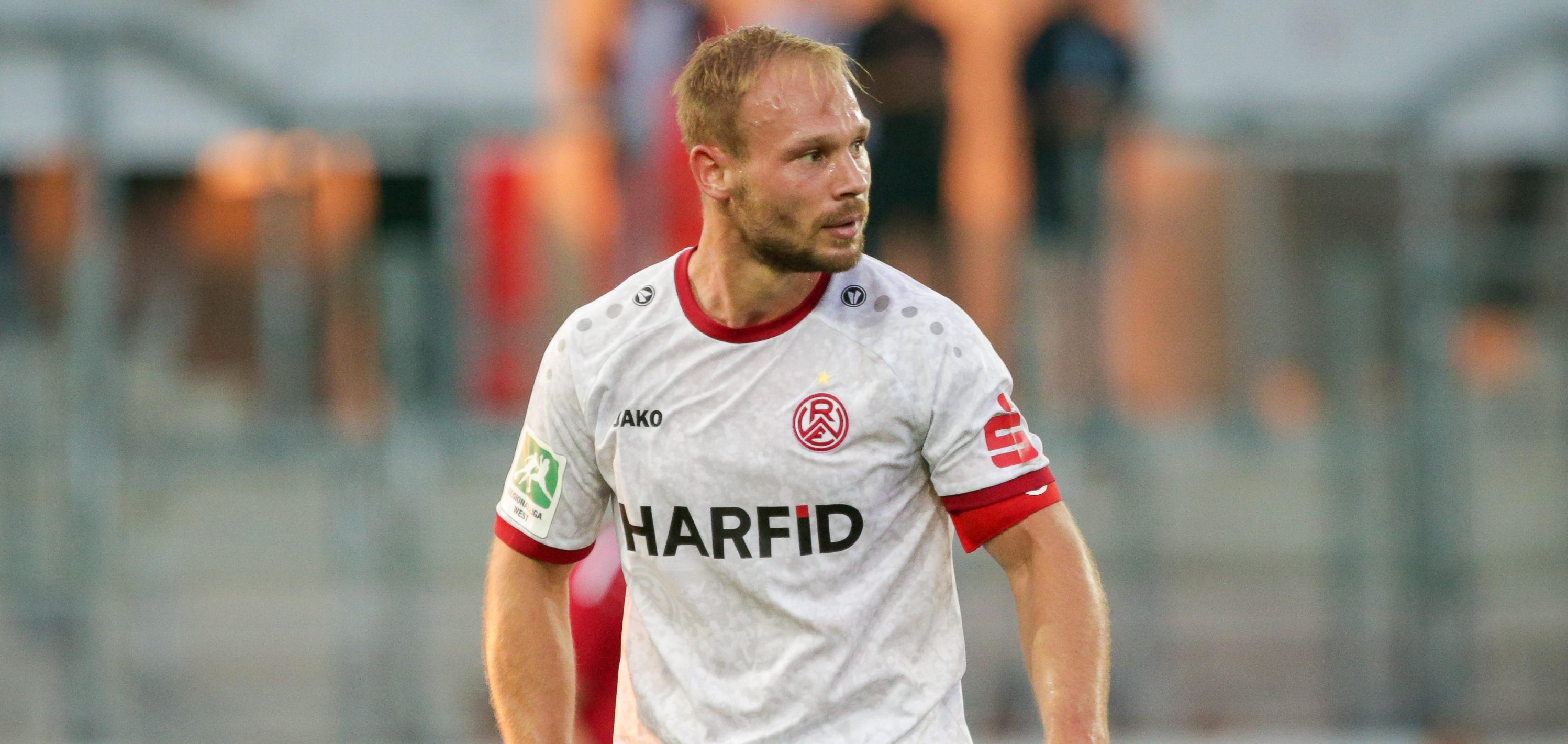 Felix Herzenbruch wechselt vorerst zu Rot-Weiß Oberhausen und kehrt zur kommenden Saison an die Hafenstraße zurück. (Foto: Endberg)