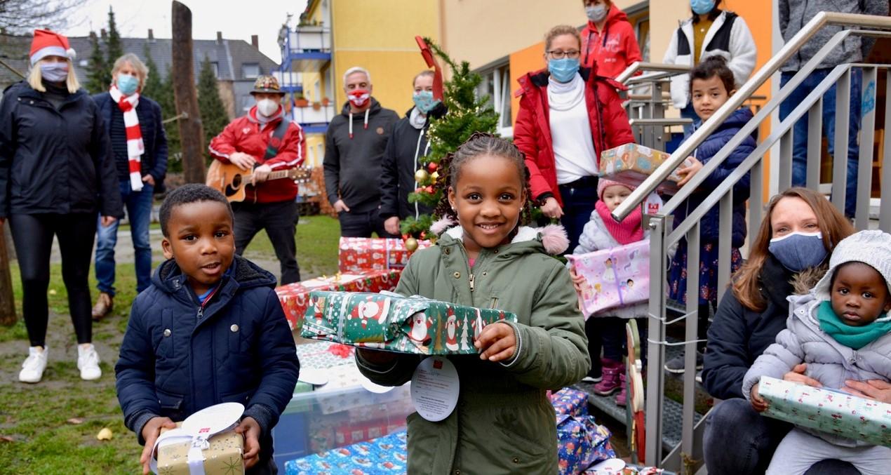 Der RWE-Express tourt und zaubert Kindern ein Lächeln ins Gesicht. (Foto: EC/Capitain)