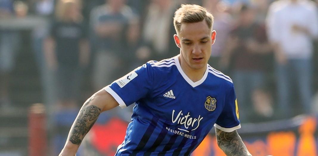 Marco Kehl-Gomez schnürt ab der neuen Saison für RWE die Fußballschuhe.